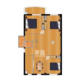 老燈泡廠宿舍(啤酒廠宿舍)  2室2廳1衛    1200.0元/月