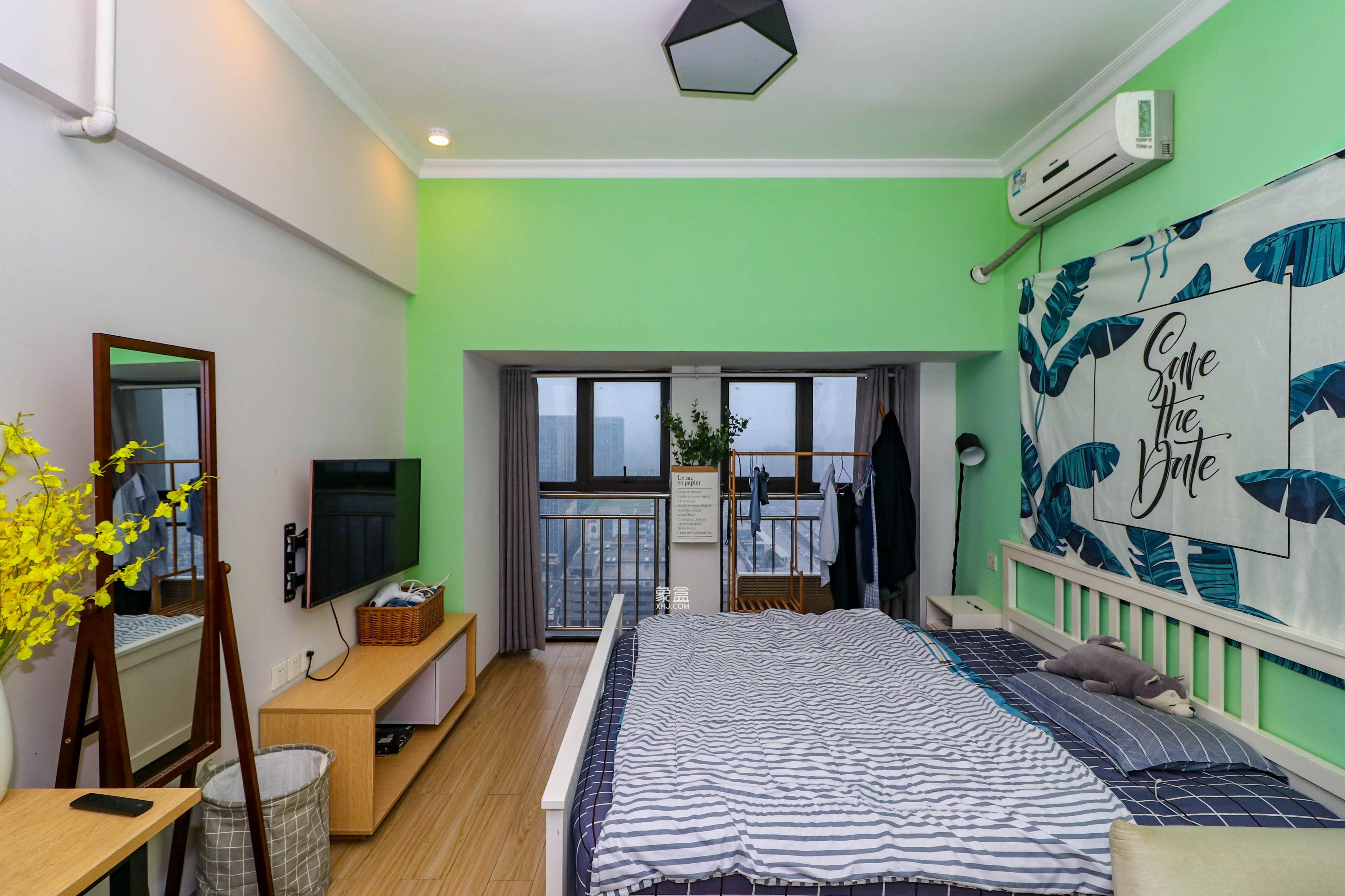 公寓不限g!月租1600 汽车西站地铁口!达美D6区地段优越