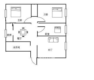 南华花园南华小区  3室2厅1卫    45.0万
