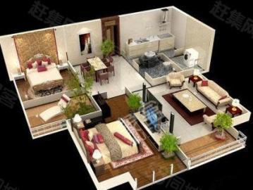 中海东郡  2室2厅1卫    190.0万