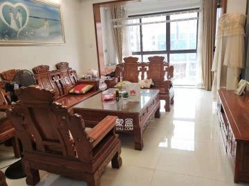 乾源國際,居家精裝修,全屋紅木家具,拎包入住,2500包物業