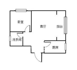 文化园三期  1室1厅1卫    45.0万