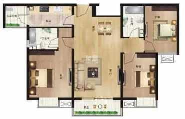 竹峰苑  3室2厅1卫    58.0万