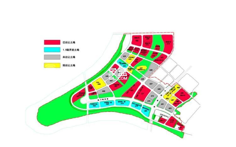 绿地V岛配套图