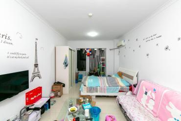 萬科魅力之城豪裝單身公寓出租,家電齊全,拎包入住