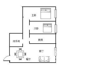 神龙公园对面 曦美苑 精装两房只卖53万