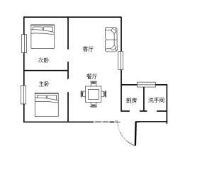 文化路散盘(文化路28号)  2室1厅1卫    40.0万