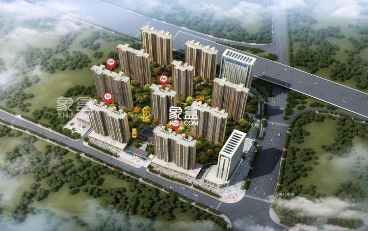 日盛湖湘府规划图