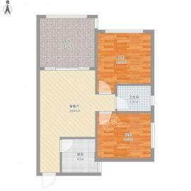 满堂悦(锦尚名城)  2室2厅1卫    2500.0元/月