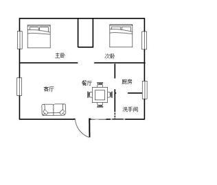 煜峰花园先锋路23号  2室2厅1卫    54.8万