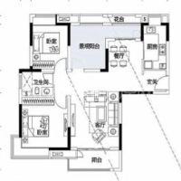 保利麓谷林语  3室2厅1卫    118.0万