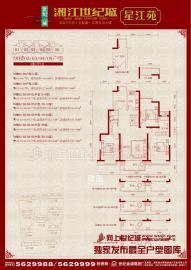 湘江世紀城星江苑  精裝三房,家電齊全,拎包入住