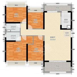 泽云佳园  4室2厅2卫    128.8万