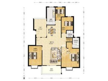 中谷苑  4室2厅2卫    270.0万