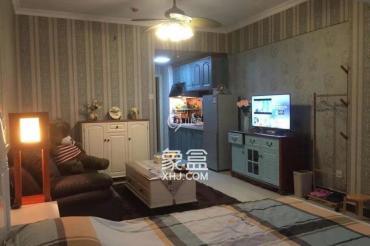 觀園國際公寓  1室1廳1衛    2500.0元/月
