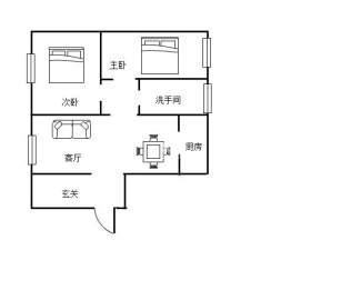 香博堡  2室2厅1卫    56.8万