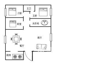 山水印象  3室2厅2卫    78.0万