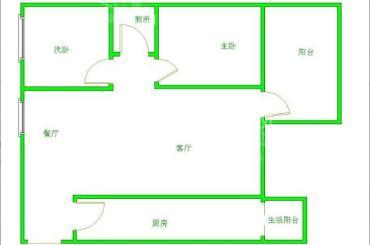 南湖国际1期  2室1厅1卫    150.0万