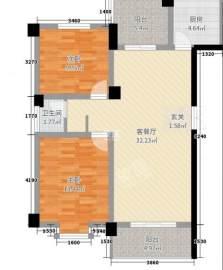 新邦壹品  2室2厅1卫    77.8万