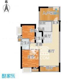 枫华府第  3室2厅1卫    1600.0元/月
