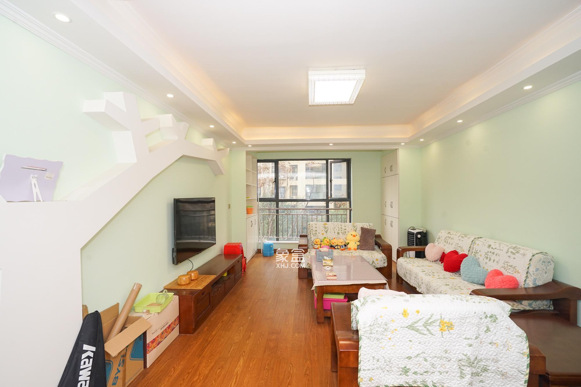 長盛嵐庭 入住時間一個半月 滿五一住房 中央空調 實木家具