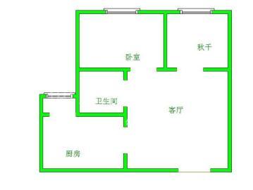大有智慧广场  2室1厅1卫    2500.0元/月