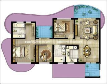 绿地海长流一期  4室2厅2卫    220.0万
