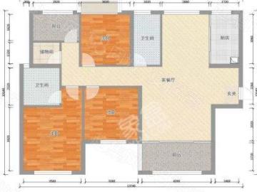 金叶花园  4室2厅2卫    2600.0元/月