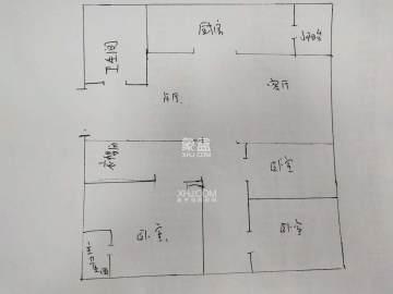 株山国际世家  3室2厅1卫    98.0万