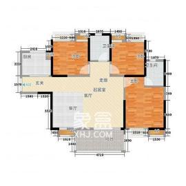湘域熙岸  3室2厅2卫    195.0万