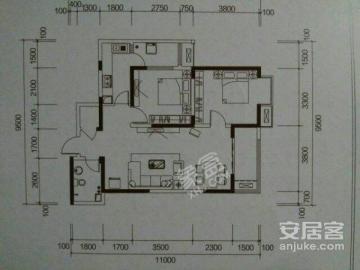 宏府鹍翔九天  2室2厅1卫    115.0万