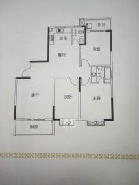 山城明珠全新装修,拎包入住,环境优雅,温馨舒适大三房