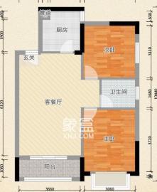 航空母舰  2室2厅1卫    2600.0元/月