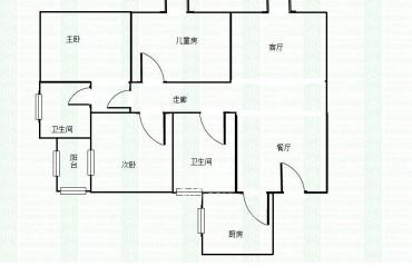 亲亲家园  4室2厅2卫    136.0万