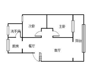 南华花园南华小区  2室2厅2卫    31.8万