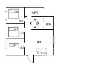 地税局  3室2厅1卫    52.8万