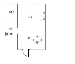 中旺锦安城,27.5万,精装修公寓