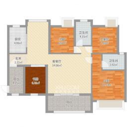 城典丽园  4室2厅2卫    125.0万