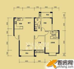宏宇新城巴萨名门北区  3室2厅1卫    90.0万