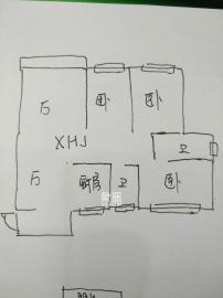 金峰小區南院  3室2廳2衛    2000.0元/月
