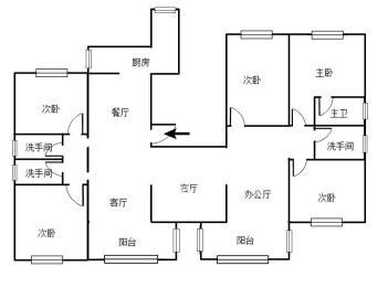 中欧昆仑首府  3室2厅2卫    236.0万