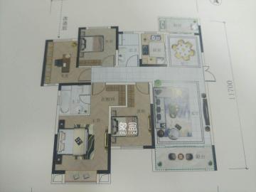 白沙世紀嘉園 精裝四房 南北通透 溫馨舒適 適合居家和陪讀