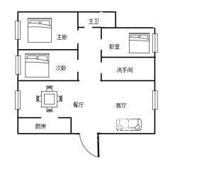 康馨佳园  3室2厅1卫    85.8万