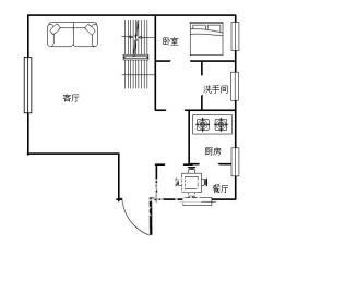 珠江花园住宅 南 / 5室2厅/341.3平米