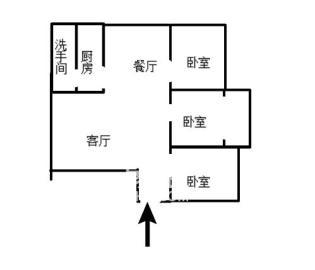 电焊条村荷叶塘 楼梯 2是2厅 56.8万