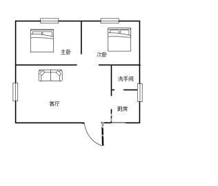 摩登摩天芦淞路61号  2室1厅1卫    51.0万