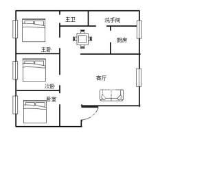 金爽大厦  3室2厅1卫    75.0万