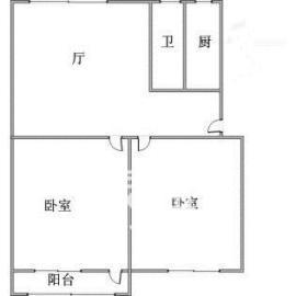 工农新村(工农桥社区)  2室1厅1卫    1600.0元/月
