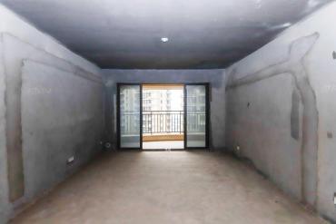 麓谷毛坯大房子,裝修我做主!保利麓谷林語125平4房2廳出售