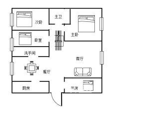 珠江丽园  6室3厅4卫    120.0万